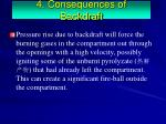 4 consequences of backdraft