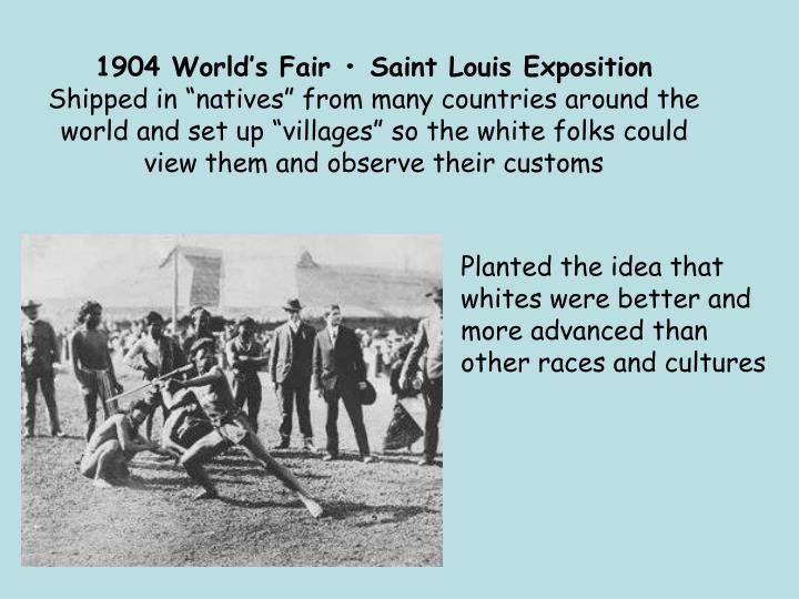 1904 World's Fair • Saint Louis Exposition