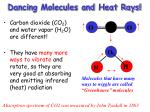 dancing molecules and heat rays1