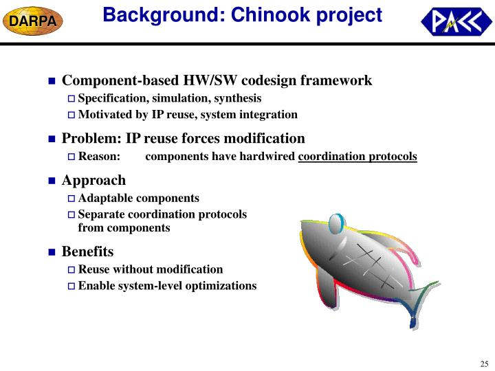 Background: Chinook project