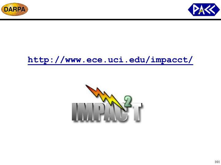 http://www.ece.uci.edu/impacct/
