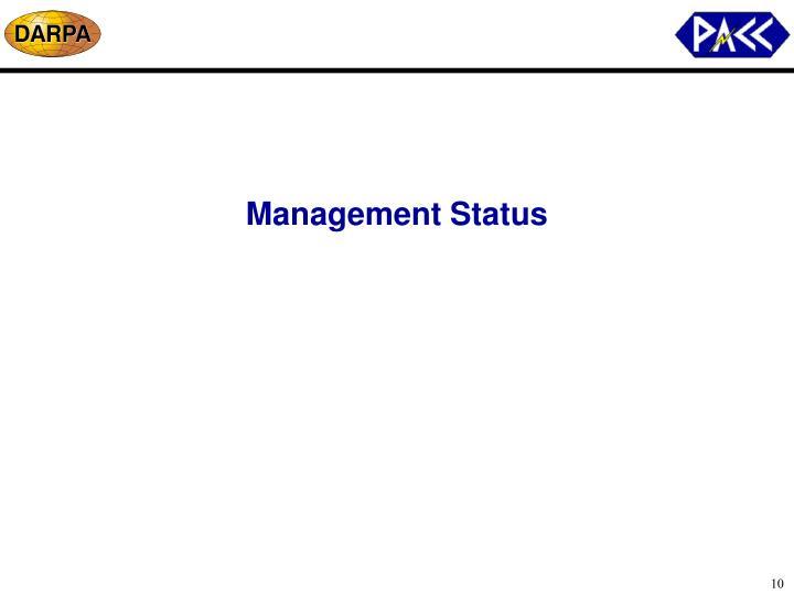 Management Status