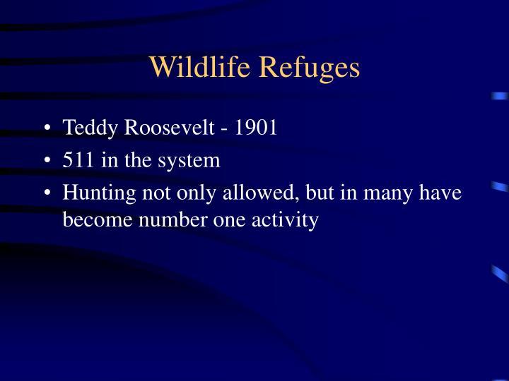Wildlife Refuges