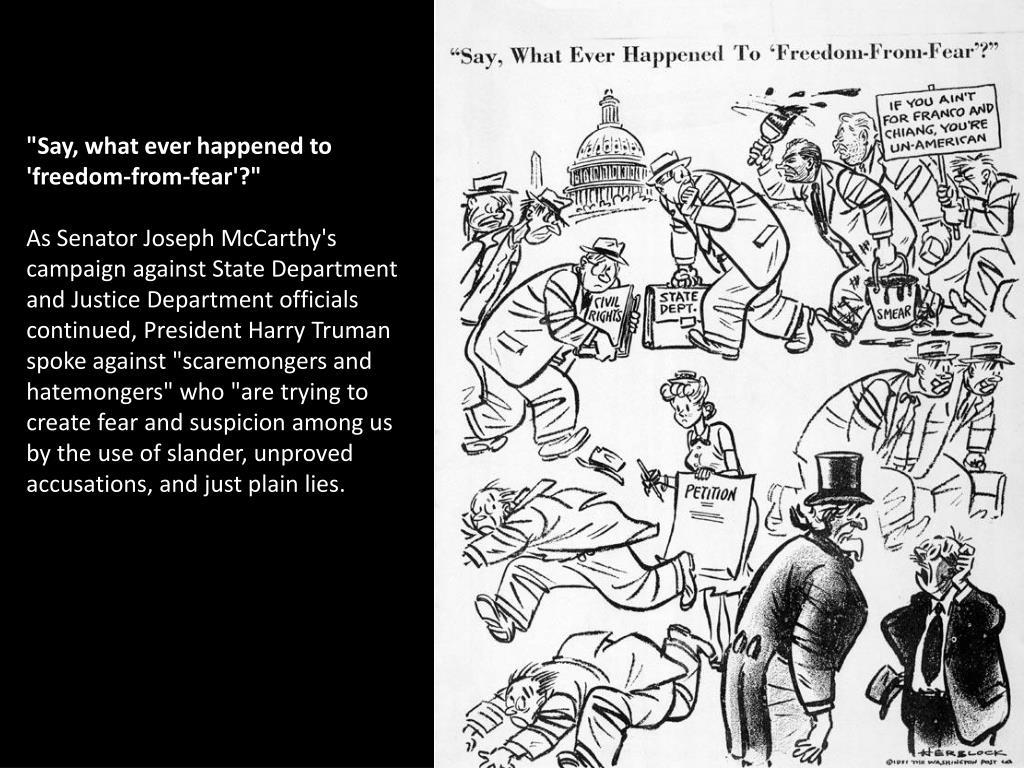 PPT - Joseph R  McCarthy PowerPoint Presentation - ID:3091248