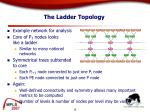 the ladder topology