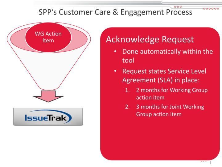 SPP's Customer Care & Engagement Process