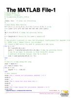 the matlab file 1