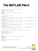 the matlab file 2