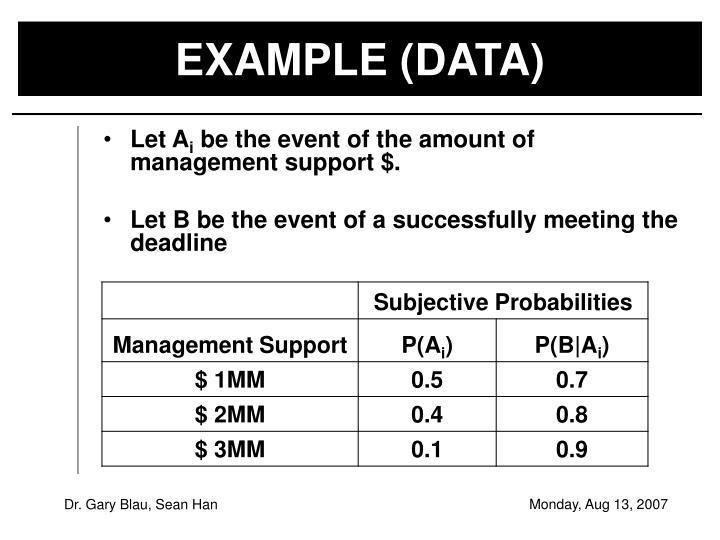 EXAMPLE (DATA)