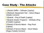 case study the attacks