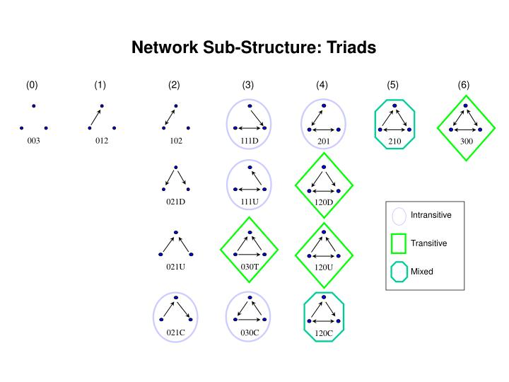 Network Sub-Structure: Triads