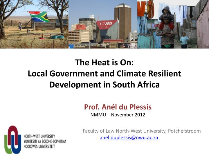 The heat is on local government and climate resilient development in south africa