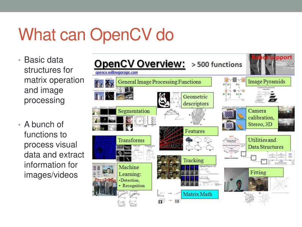 PPT - Tutorial on Matlab and OpenCV PowerPoint Presentation