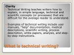 what is technical writing1