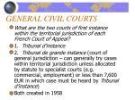 general civil courts
