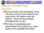 wrap up german court structure1
