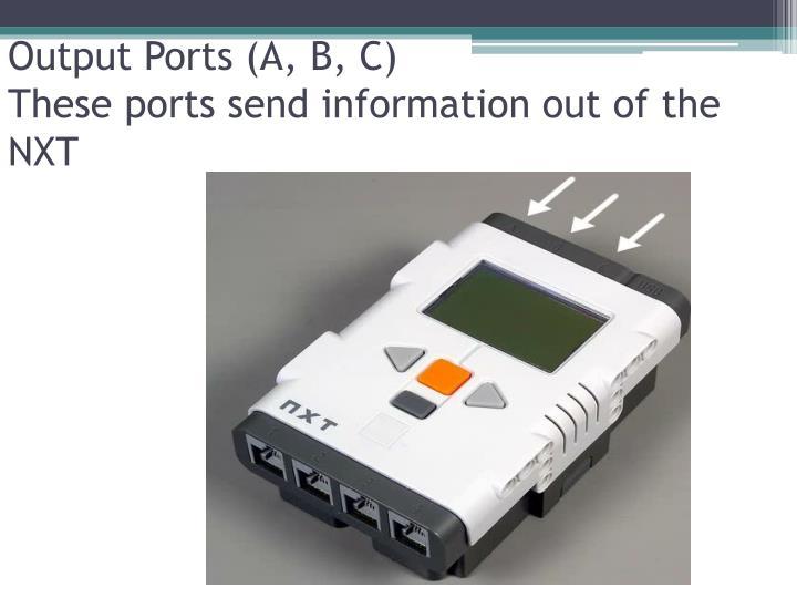 Output Ports (A, B, C)