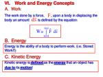 vi work and energy concepts