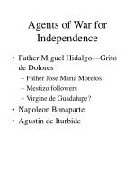 agents of war for independence