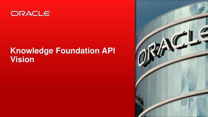 Knowledge Foundation