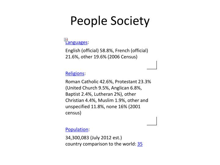 People Society
