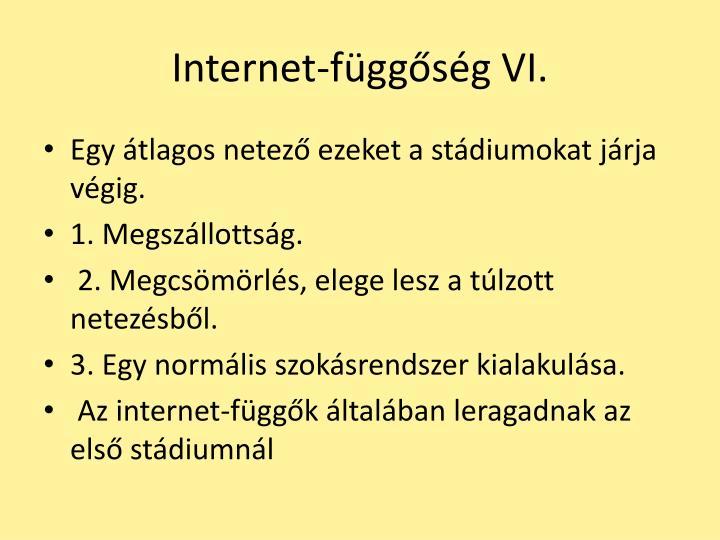 Internet-függőség VI.