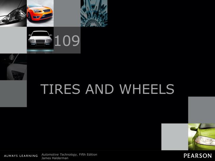 tires and wheels n.