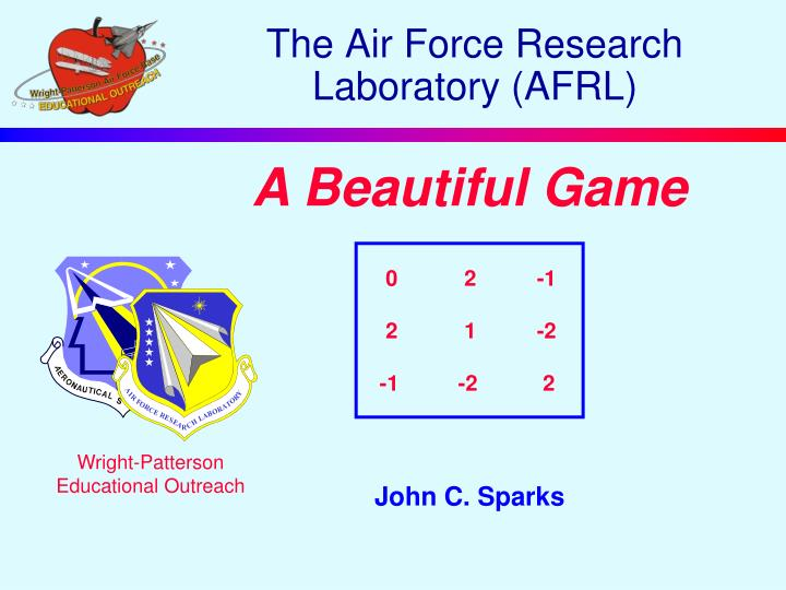 the air force research laboratory afrl n.