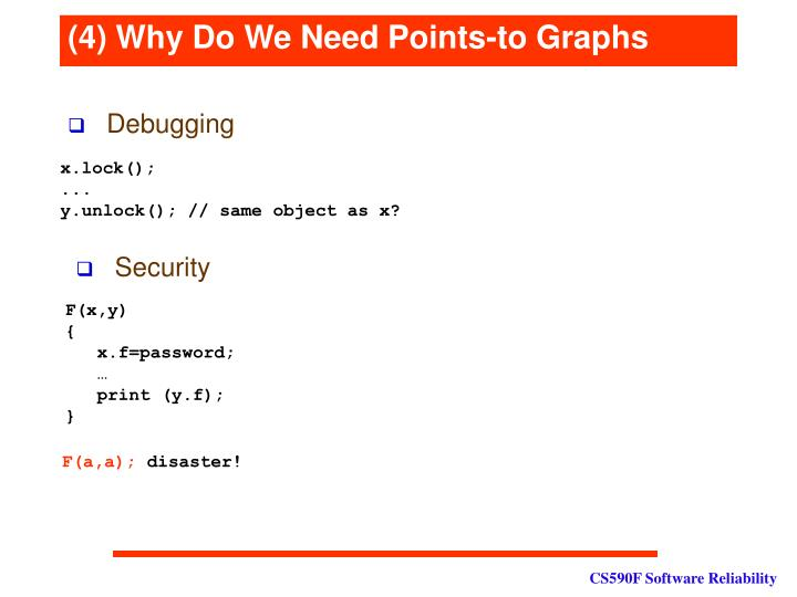 (4) Why Do We Need Points-to Graphs