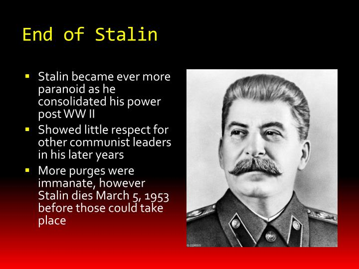 End of Stalin