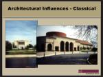 architectural influences classical
