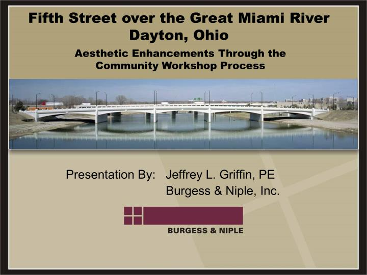 fifth street over the great miami river dayton ohio n.