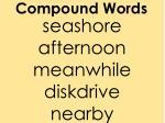 compound words2