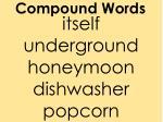 compound words3