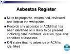 asbestos register1