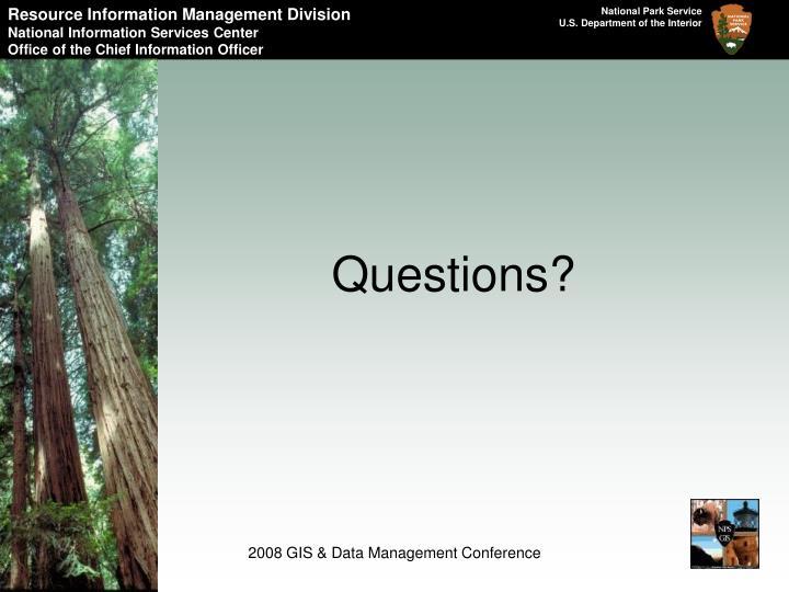 Resource Information Management Division
