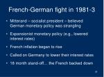 french german fight in 1981 3