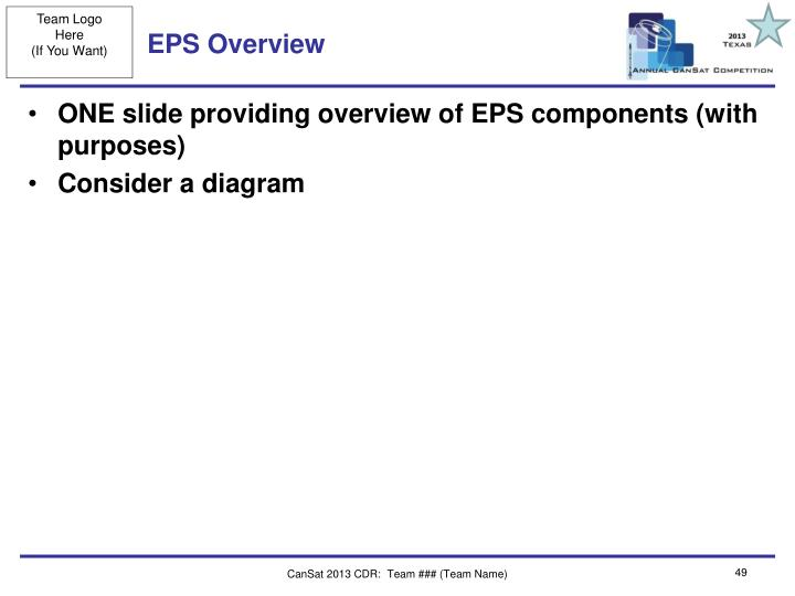 EPS Overview