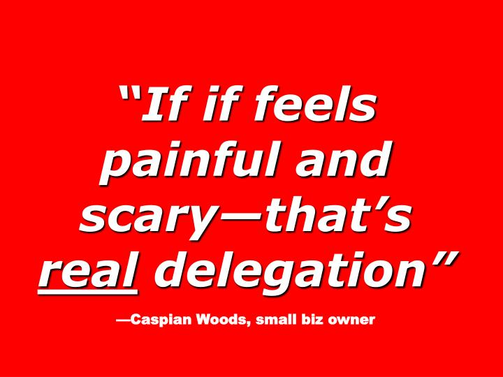 """""""If if feels painful and scary—that's"""