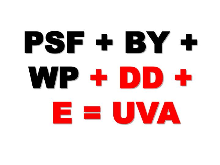 PSF + BY + WP
