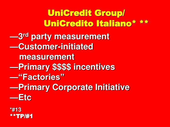 UniCredit Group/