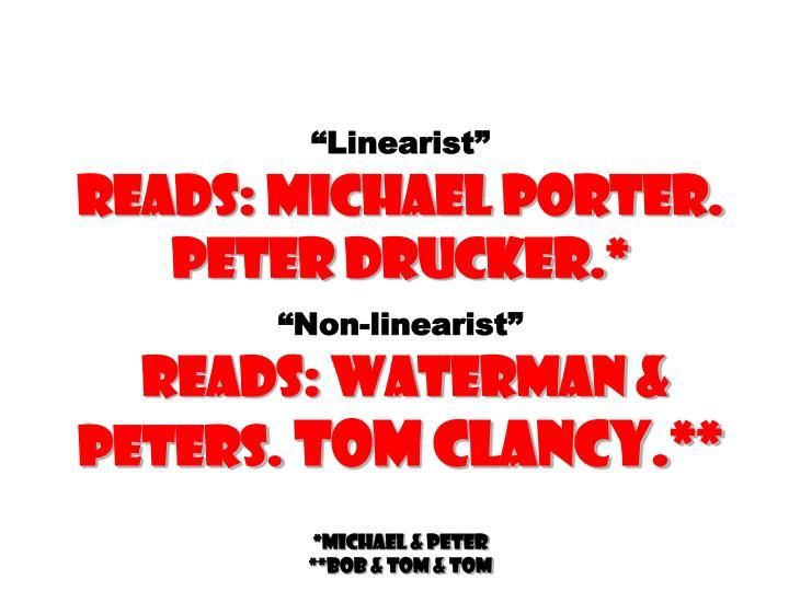 """Linearist"""
