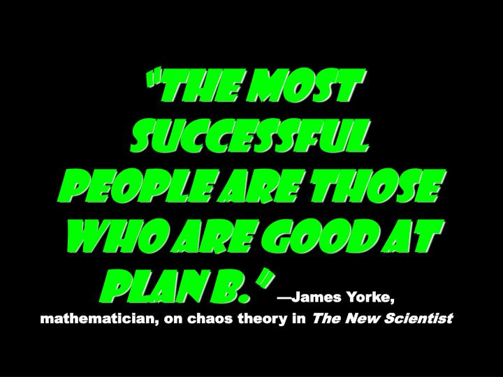 """""""The most successful"""