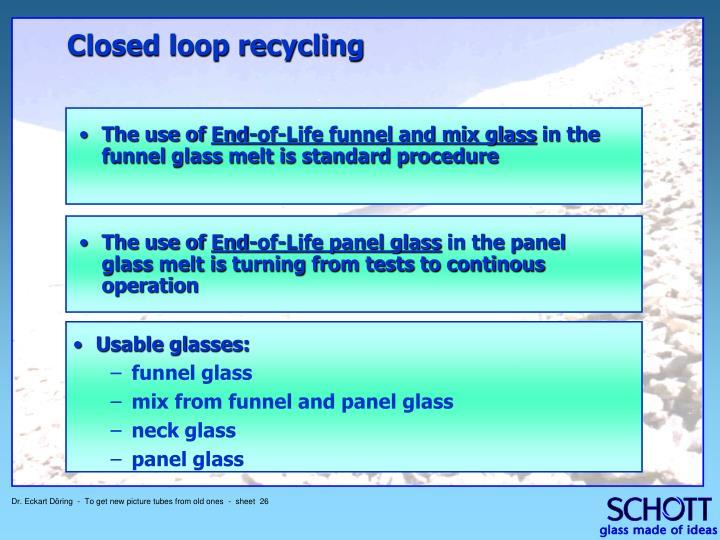 Usable glasses: