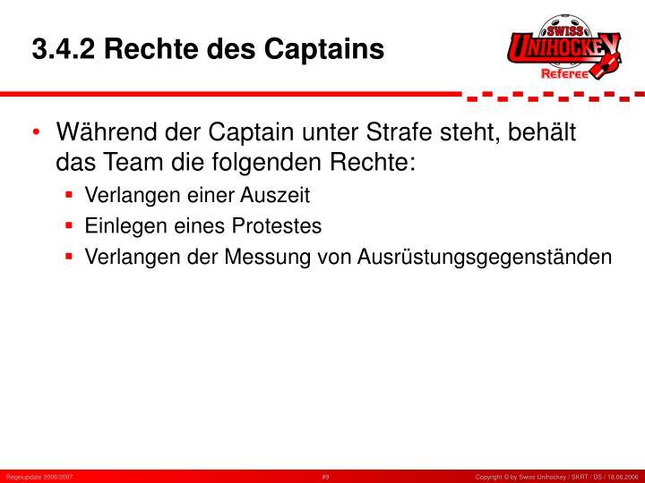3.4.2 Rechte des Captains