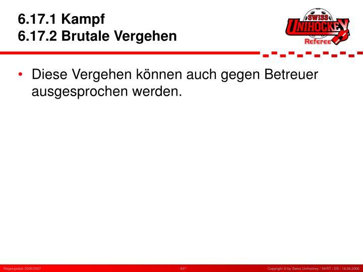 6.17.1 Kampf