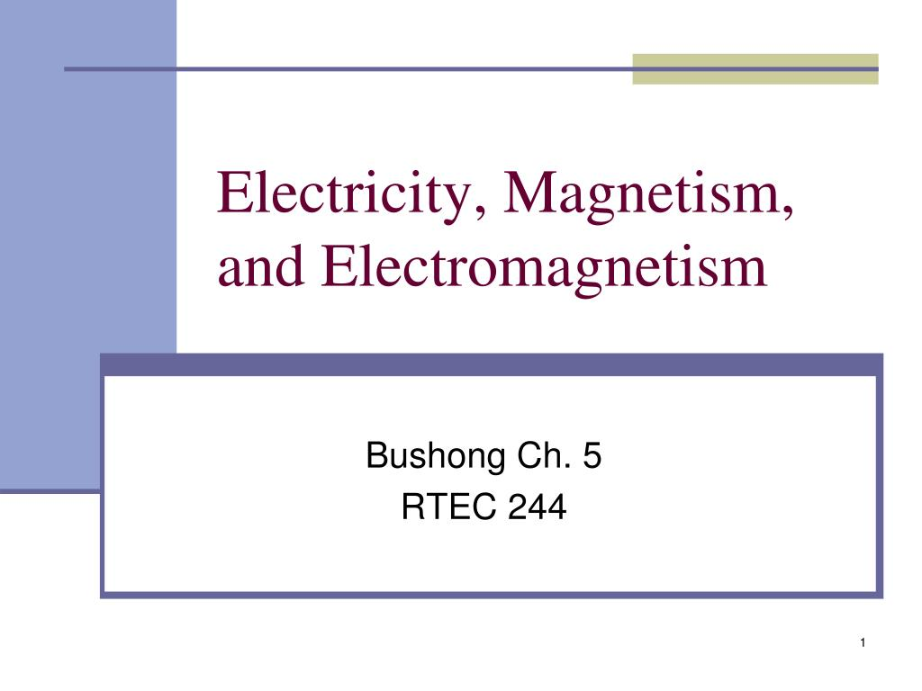 Ppt Electricity Magnetism And Electromagnetism Powerpoint Electric Circuits Pinterest N