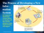 the process of developing a new infor mation system
