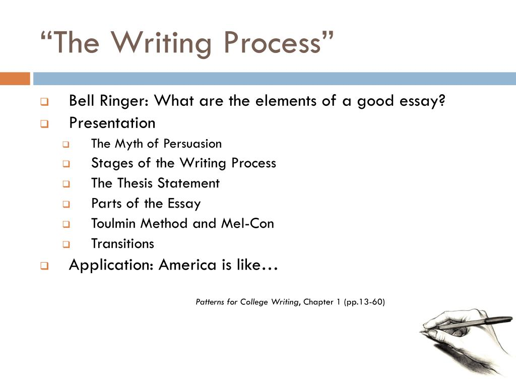 """PPT - """"The Writing Process"""" PowerPoint Presentation - ID:3095051"""