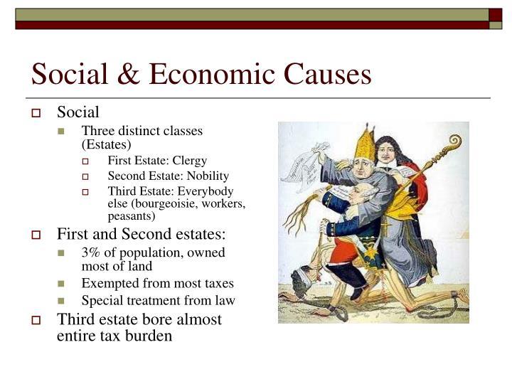 Social & Economic Causes